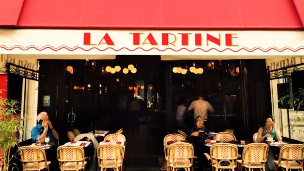 La Tartine Façade du restaurant