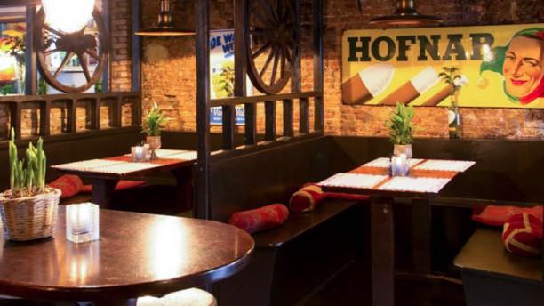 't Kont van het Paard Het restaurant