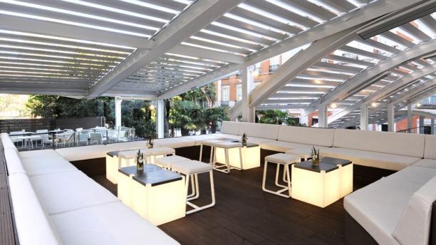 Restaurante las terrazas del thyssen en madrid museo del for Terrazas nocturnas madrid
