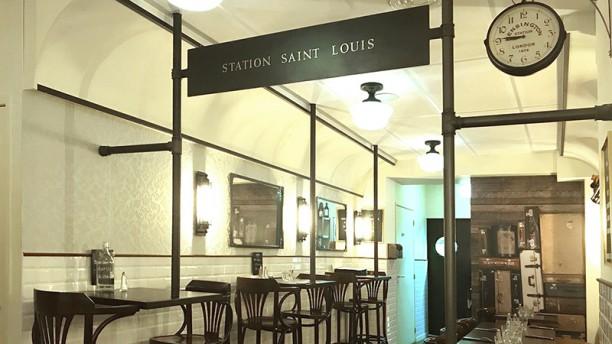 Station Saint-Louis Vue de la salle