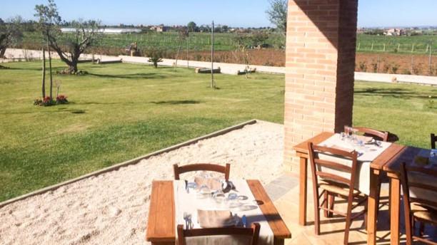 Al Casolare Terrazza e giardino