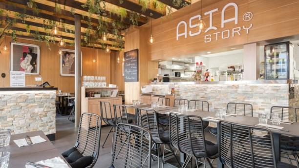 Asia story - Odéon Salle du restaurant