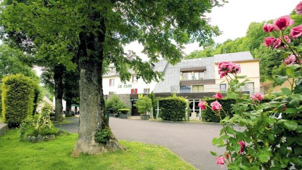 Le Clos L'hotel en été