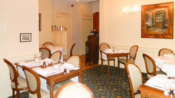 Manoir de Contres Salle du restaurant