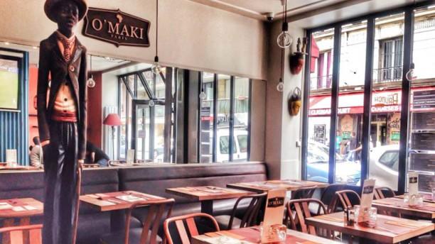 O 39 maki by la kaz restaurant 65 rue letort 75018 paris - Restaurant africain porte de clignancourt ...