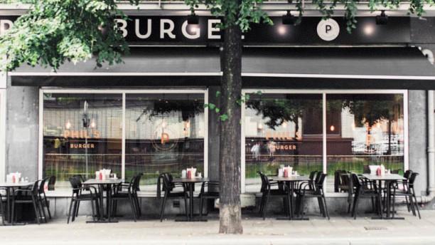 Phils Burger Kungsholmen Ingång
