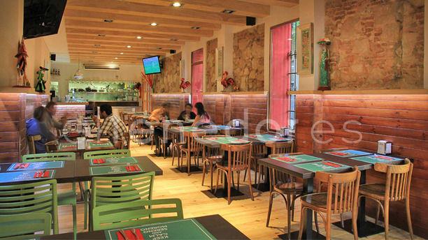 La Cantina Mexicana sala principal