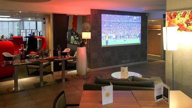 N'Café Gare Lyon Part Dieu diffusion des matchs