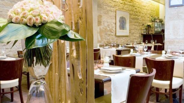 Dominique Bouchet La salle de restaurant