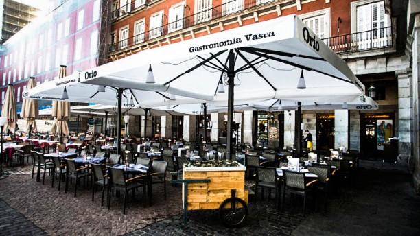 Orio Plaza Mayor La terraza