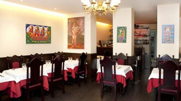 Rajib Mahal Vue de la salle