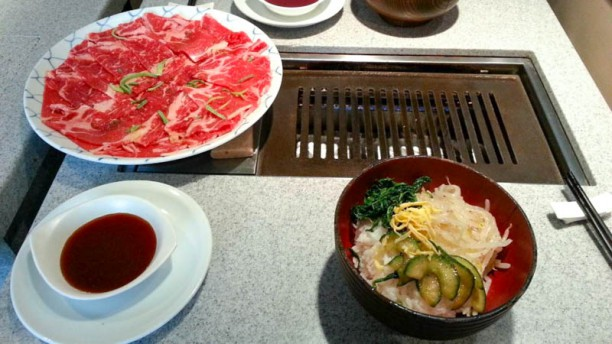 Korean Barbecue suggestion du chef