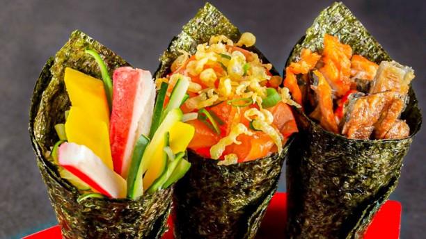 Sushi Kinka Sugestão do chef