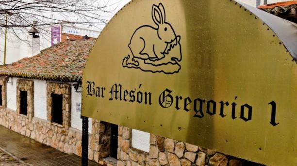 Mesón Gregorio I La entrada