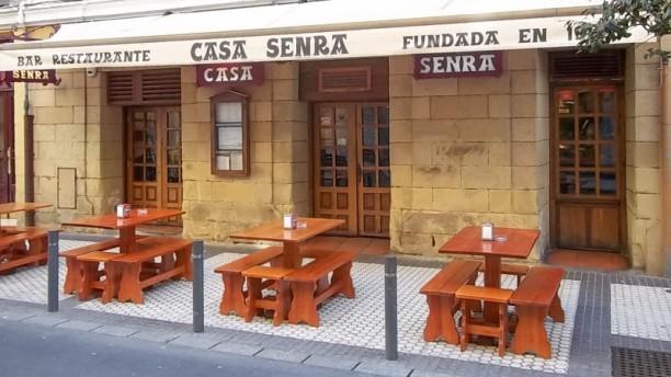 Casa Senra Terraza