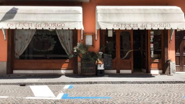 Osteria Del Borgo entrata