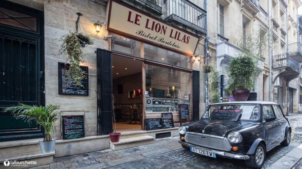 Le Lion Lilas façade