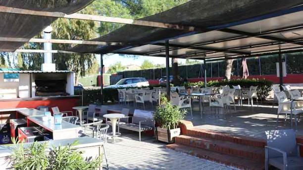 Bar Club Hípica Villaviciosa Terraza