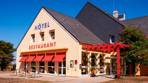 Les Bateliers Facade du restaurant