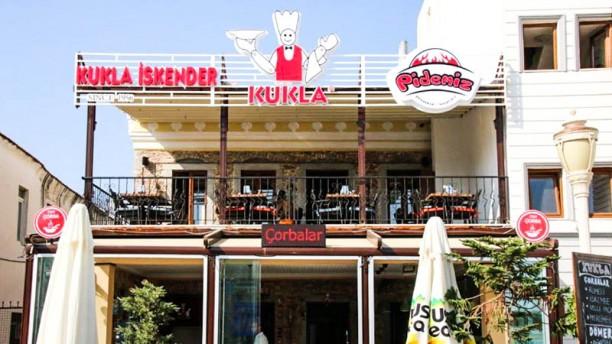 Kukla İskender - Pidemiz The entrance