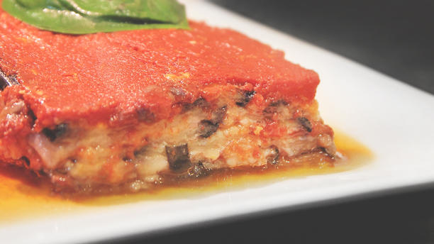 All You Can Eat Romano lasagna