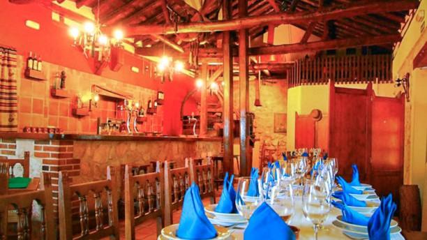 El Molino de Madrona Vista sala