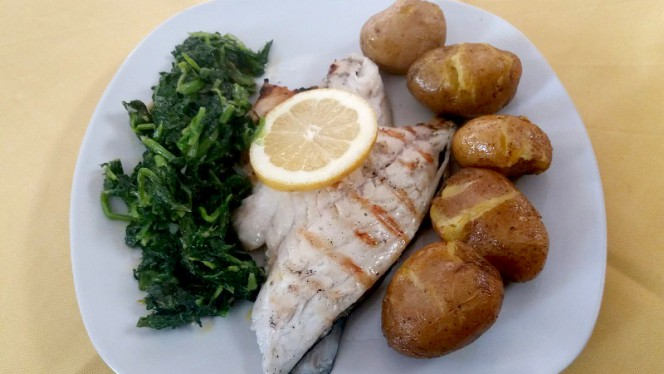 Prato - Ribeira's Restaurante, Porto