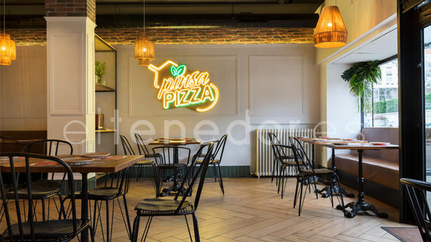 Pinsa Pizza Vista sala