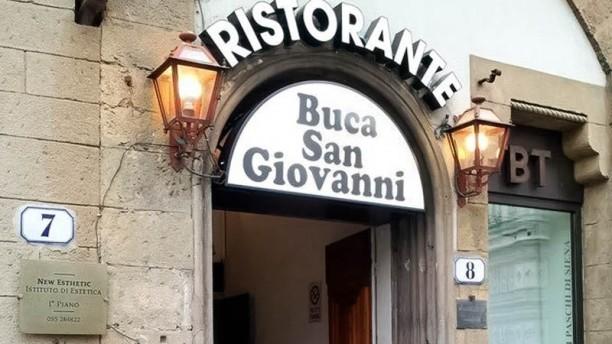 Buca San Giovanni entrata