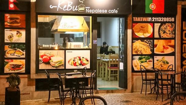 Kebug Nepalese Café Vista terraza