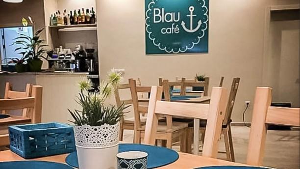 Blau Café Vista sala