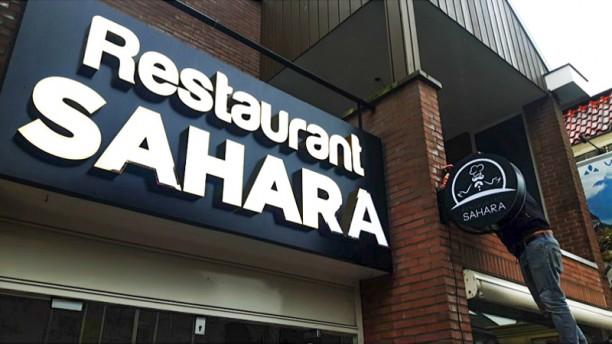 Restaurant Sahara Ingang