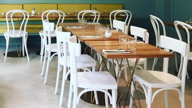 Café Mimosa Vue de la salle
