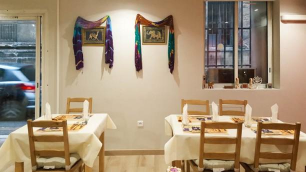 Le Chemin du Safran Salle du restaurant