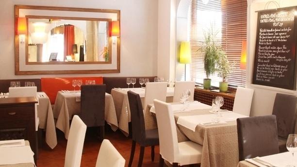 OJ Restaurant Vue d'ensemble de la salle