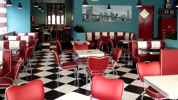 John's Burger La sala