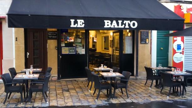 Le Balto Façade du restaurant