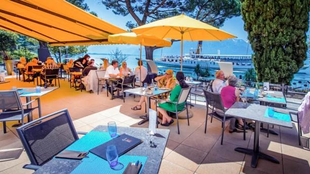 Restaurant Terrasse Safran - Eurotel Montreux terrasse