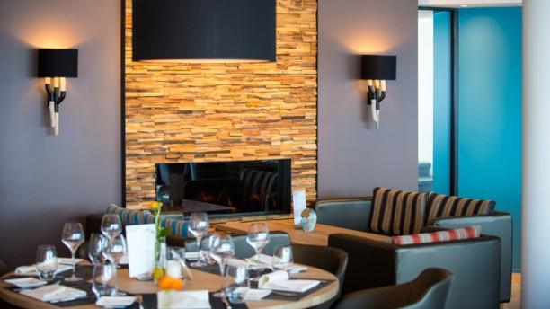 Restaurant Terrasse Safran - Eurotel Montreux Vue de la salle