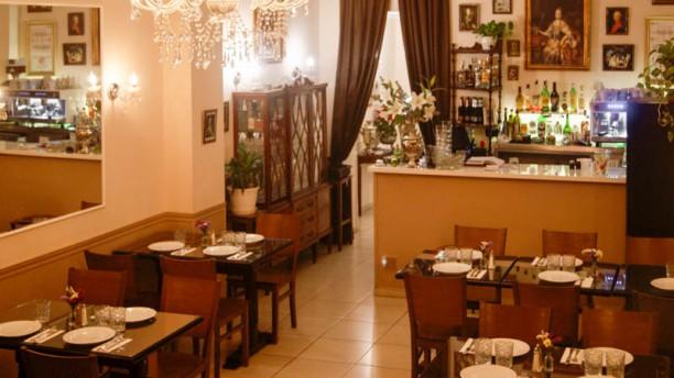 Ekaterina Restaurant Vista de la sala