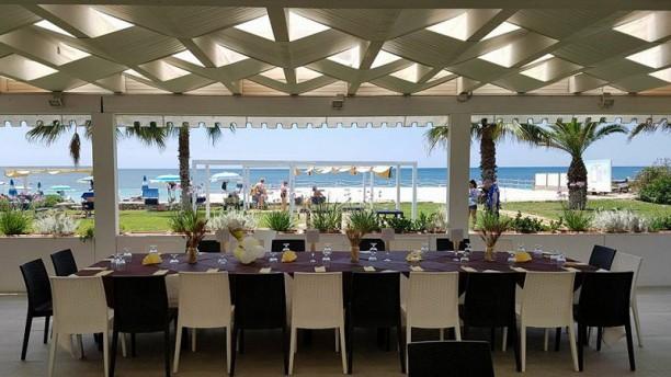 Saracino Beach Restaurant Vista della terrazza