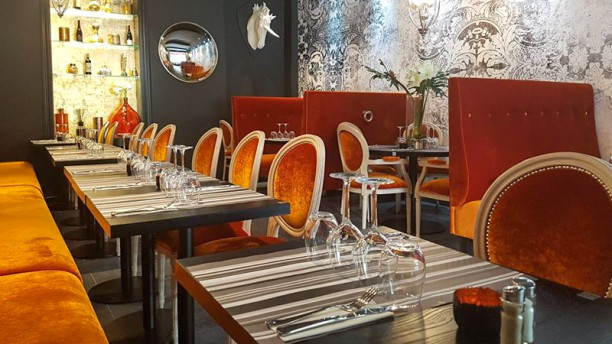 L´Appart Salle du restaurant