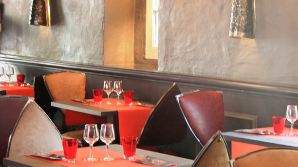 Brasserie Le Donjon Vue de la salle