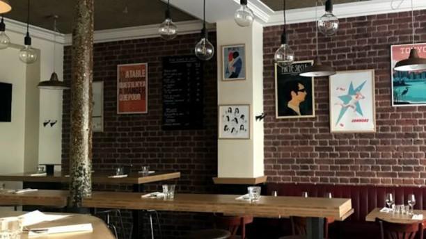 Café Noisette Ambiance branchée décontractée
