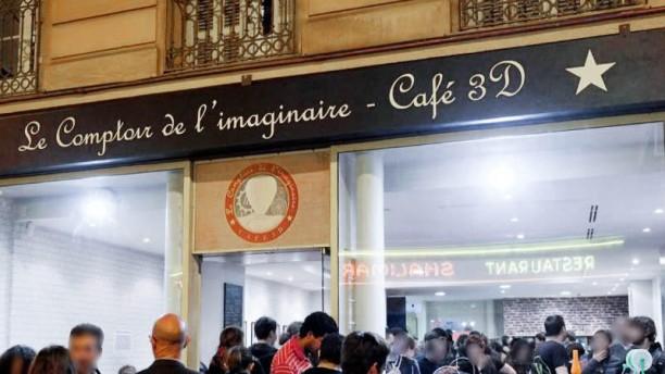 Restaurant le comptoir de l 39 imaginaire nice menu avis - Le comptoir de l assurance ...