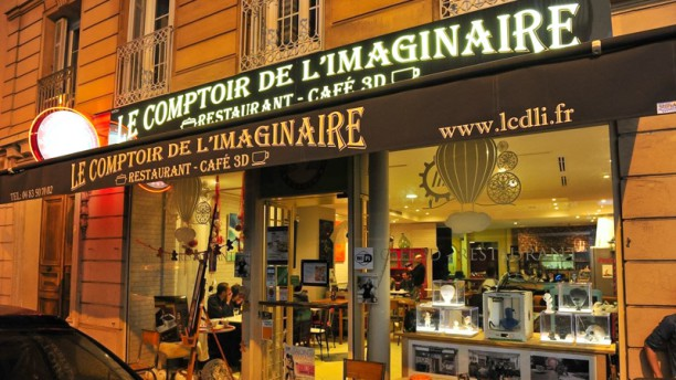restaurant le comptoir de l 39 imaginaire nice 06000 avis menu et prix. Black Bedroom Furniture Sets. Home Design Ideas