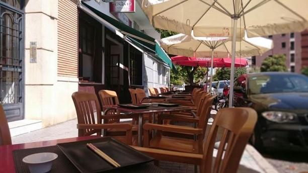 Tuna Restaurante Vista terraza