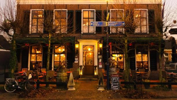 Restaurant Bergsma Easterein Ingang