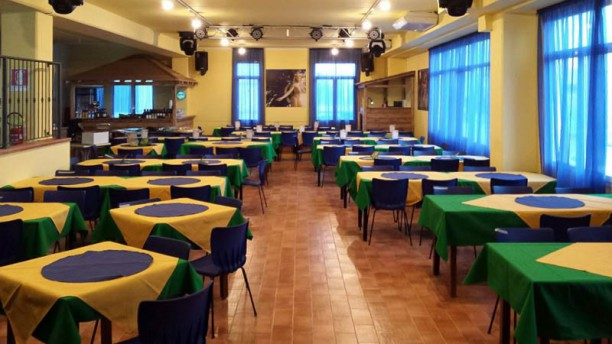Churrascaria Rio Grill Vista sala