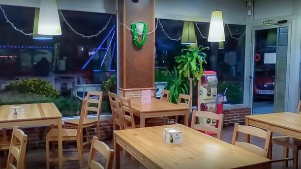 Cafe Bar La Rotonda vista del interior